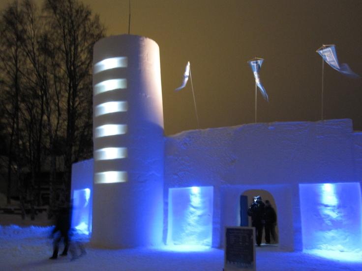 Snowcastle 2012. Lumilinna 2012.