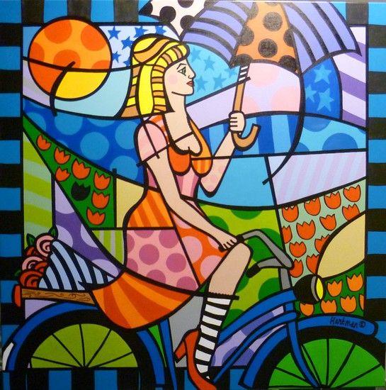 Zonnig fietsen - Synny cycling- Els Hartman