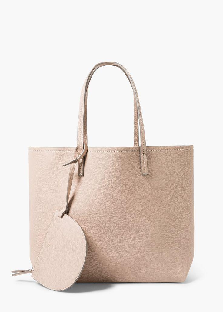 Reversible bicolor bag - Bags for Women | MANGO
