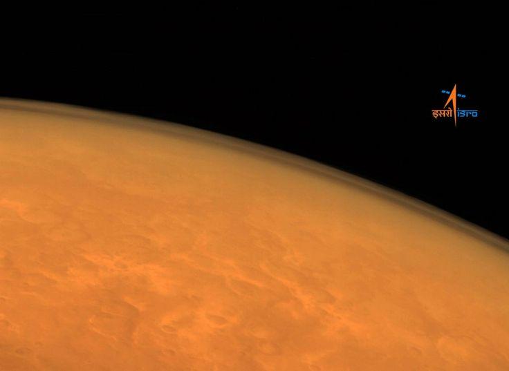 Mars : premières images la sonde spatiale indienne Mangalyaan
