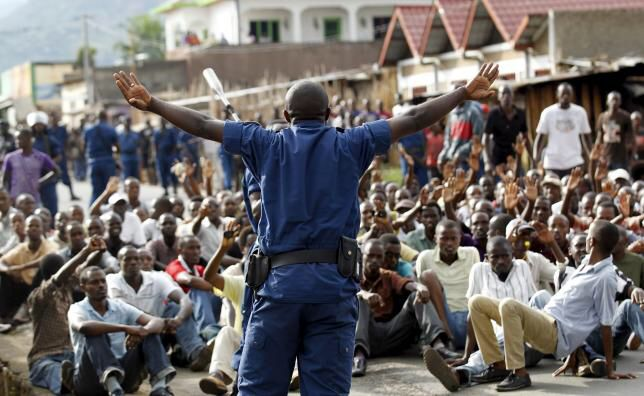 Burundi president sacks ministers as protests resume in the country, There have been yet more protest in Burundi's capital, Bujumbura, against President Pierre Nkurunziza, just days after a failed coup attempt.. #businessnews #worldnews #news #business #uae #dubai #mydubai #gccnews #gccbusinesscouncil #gulfnews #middleeast #socialmedia #Burundi #politics #PierreNkurunziza #coup #oman #qatar #kuwait #saudArabia