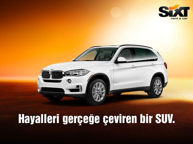 BMW X5 serisi sizleri bekliyor. #BMW #X5 #Sixt #Sixtrentacar