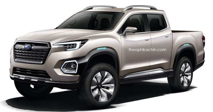 A Subaru Pickup Truck Isn't As Crazy As It Seems #Renderings #Subaru