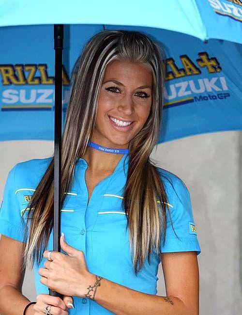 Rizla Suzuki Paddock