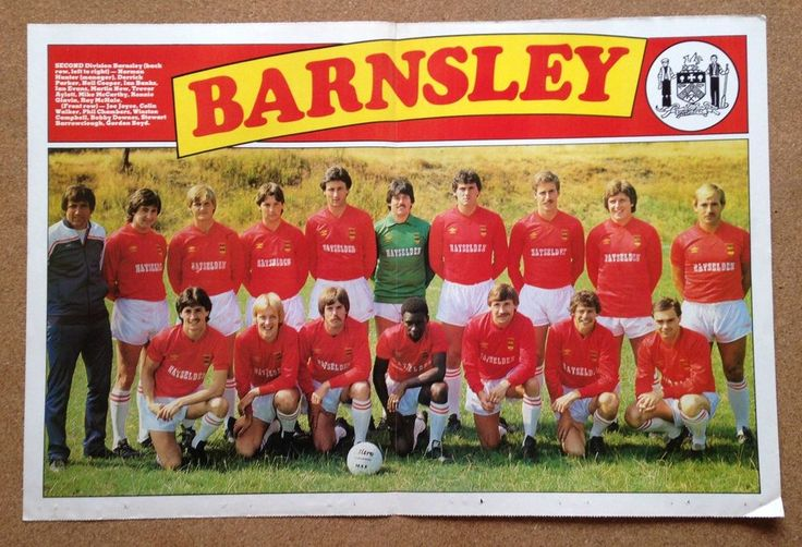 match #Football magazine team / squad a3 picture barnsley 1981-82 season from $3.99