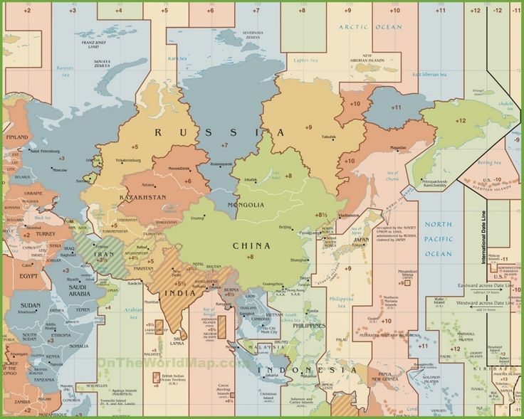 1000+ ideas about Time Zone Map on Pinterest | Time zones ...