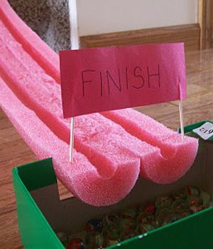 Quick and Easy Activity: Make Your Own Marble Race Track « Canadian Family