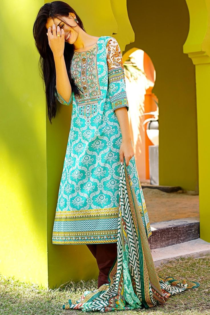 Shirt design lawn - Pakistani Designer Dresses Lowest Prices Zeen 3 Piece Fully Stitched Lawn Suit With Shirt