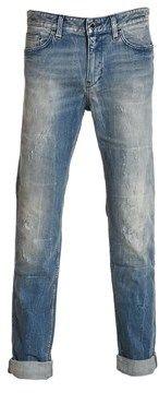 HUGO BOSS Men's Blue Cotton Jeans.