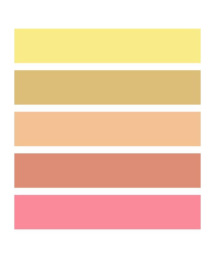 50 shades of sunrise