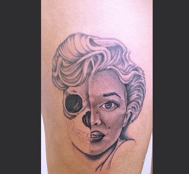 Monroe unfinished. If your gonna be two faced, make one of them pretty
