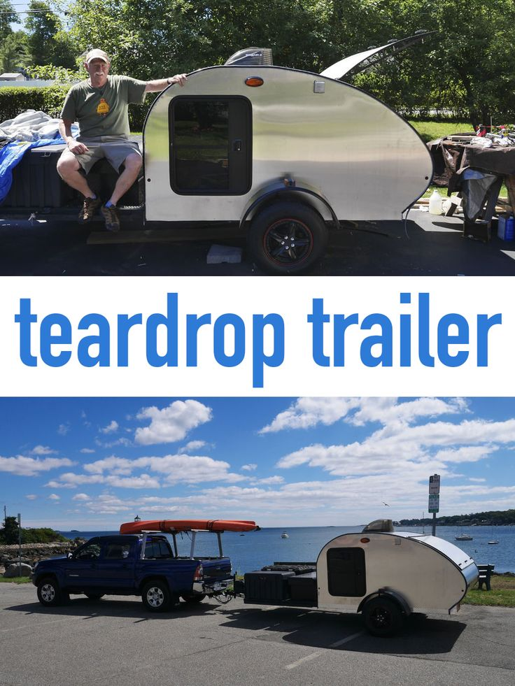 Teardrop Trailer With Bathroom: Teardrop Trailer, Trailers And