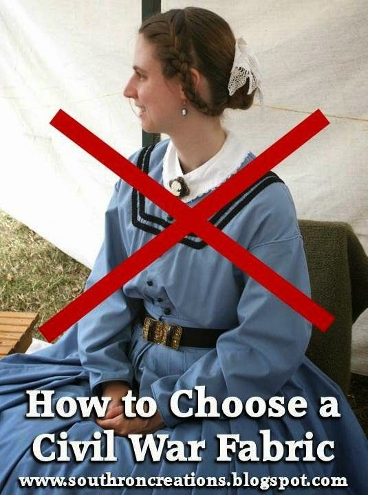 Southron Creations: How To Choose A Civil War Fabric