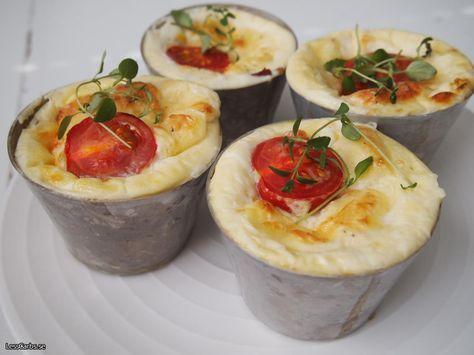 Recept: Äggmuffins LCHF – Baconmuffins LCHF