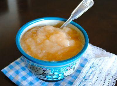 Невыразимая легкость кулинарного бытия...: домашнее яблочное пюре