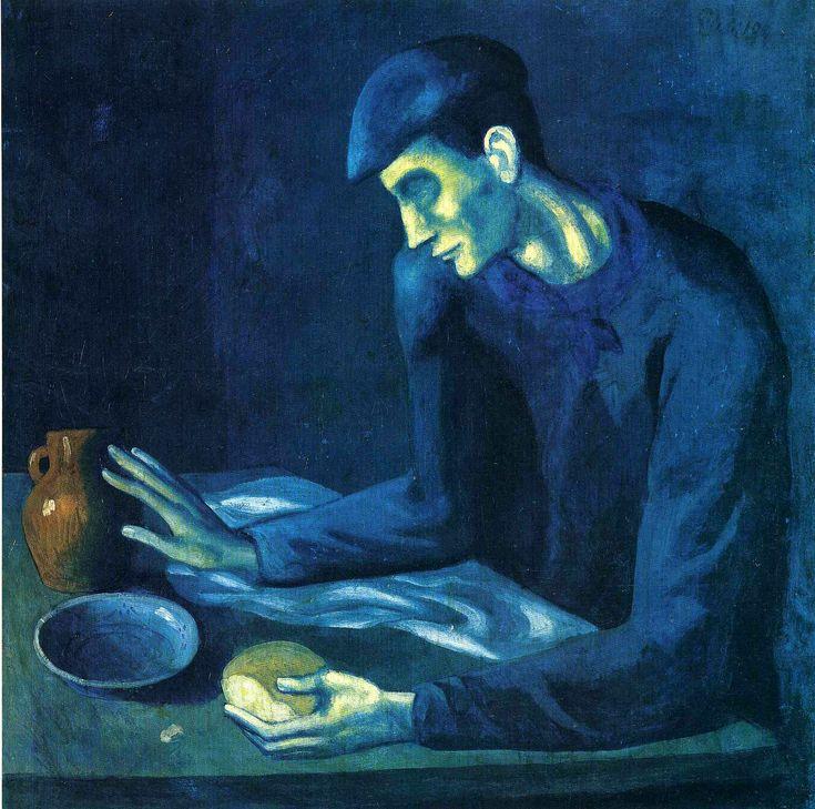 Пабло Пикассо «Завтрак слепого»