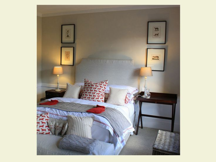 Wilde At Heart - Red French bedroom decor