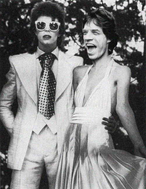 Bowie + Jagger