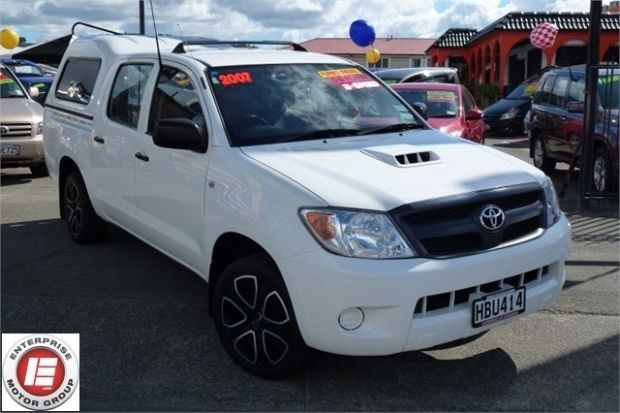 2007 Toyota Hilux 3.0TD 2WD D/C UTE 5M