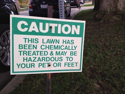 Caution Chem-Lawn!!!