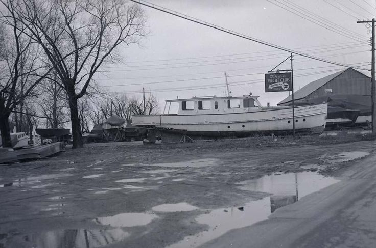 Windsor Yacht Club circa 1957