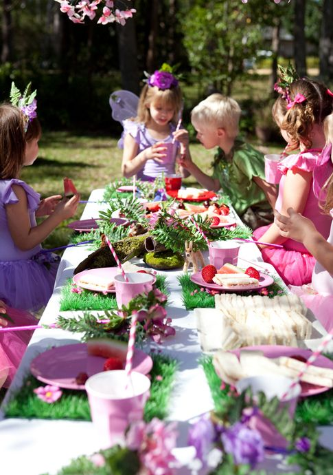 enchanted fairy party- like the little boy's outfit