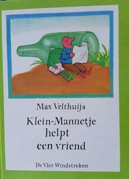 Prentenboek Klein mannetje helpt een vriend