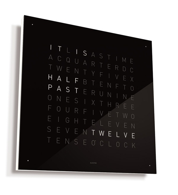 COOLEST CLOCK IN THE WORLD: Idea, Gadgets, Cool Clocks, Awesome Clocks, Decoration, Wall Clocks, Qlocktwo Wall, Products, Design