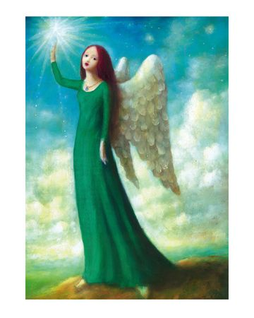 Angel in Green  ~ Stephen Mackey Limited Edition Print
