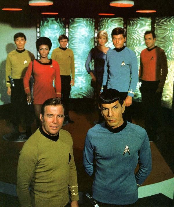 Star Trek Original - Imagenes del Cast II | Star trek 1966, Star ...