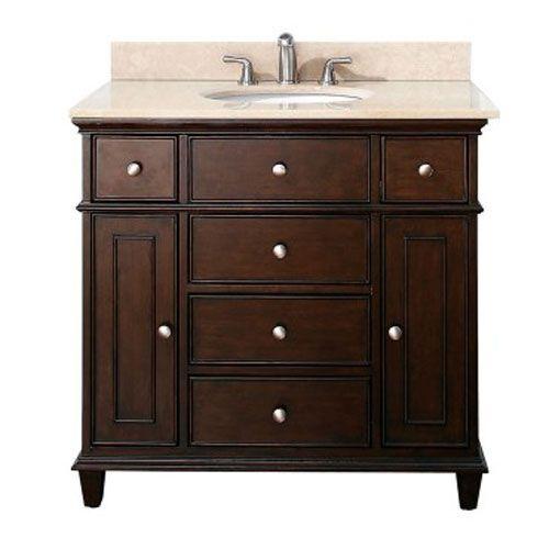 Windsor Walnut 36 Inch Vanity Avanity Vanities Bathroom Vanities Bathroom Furniture