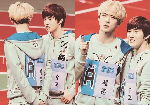Sehun & Suho EXO-K
