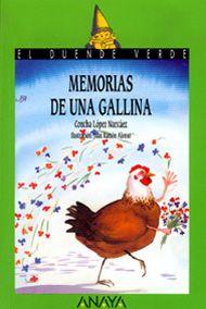 """Para 4º Alejándose de la novela histórica, género por el que es más conocida, Concha López Narváez nos muestra desde la fantasía una fábula llena de sentimientos, de dudas y reflexiones. Esta novela es un canto a la vitalidad, un sencillo retrato psicológico de lo hermoso y extraordinario de vivir. Todo gracias a Carolina, una gallina entre ingenua y rebelde que valora los conceptos positivos, la amistad y el amor, no sólo entre sus """"semejantes"""" sino en todo lo que la rodea."""