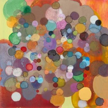 """Saatchi Art Artist Dennis Happé; Painting, """"Leftover dots #5"""" #art"""