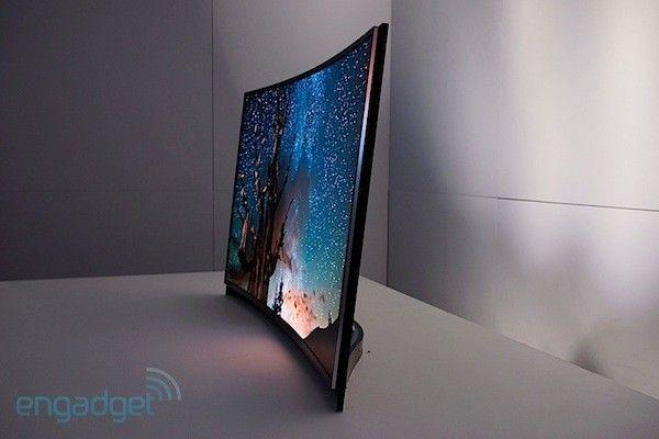 Un vistazo a los OLED TV curvados de LG y Samsung