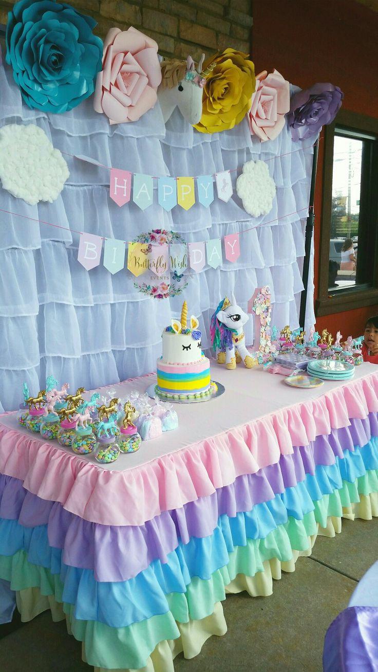 Resultado de imagen para decoracion de unicornios con globos