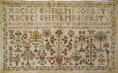 Groningen Samplers - I would love a chart of this beautiful sampler