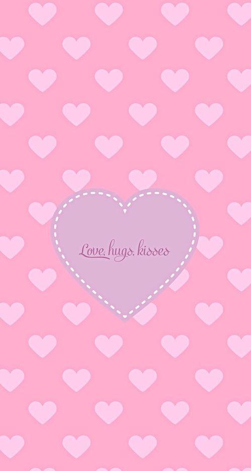 The 25+ best Pink kisses wallpaper ideas on Pinterest | Kawaii ...