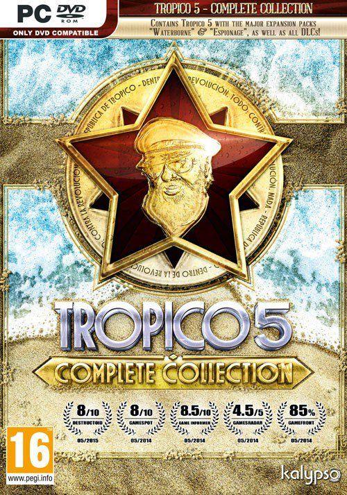 $ 11.39 Tropico 5 - Complete Collection PC CD Key, Key - cdkeys.com