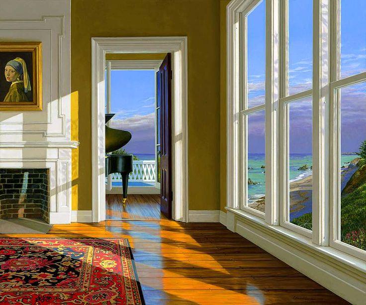 This room, please. (Edward Henry Gordon Craig. Music room)