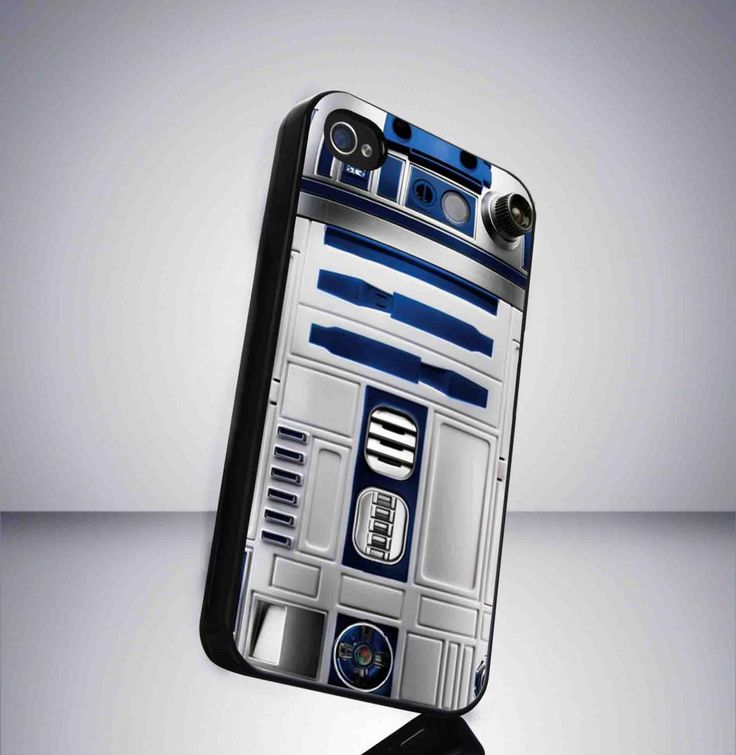 R2 droid Starwars movie iPhone 5 BLACK case