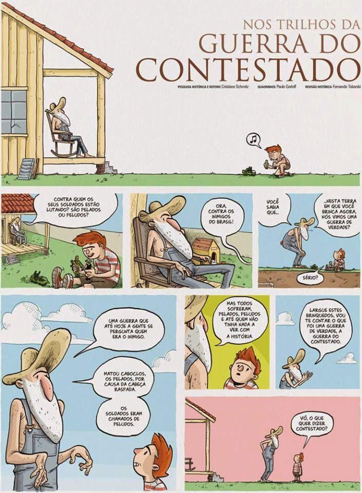 vidaDmaquinista: HQ Nos Trilhos Da GUERRA DO CONTESTADO.