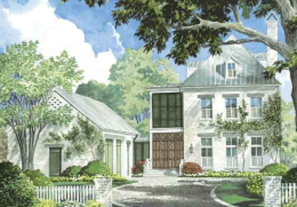 Southern Living House Plan Ken Tate House Designs