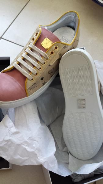 Original MCM Schuhe 40 Michalsky Urban Nomad 3 Beige Rosa Sneaker