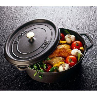 Staub鍋。 みそ汁から鶏の丸焼きまで、美味しく美しく調理してくれる優れもの。フランスでは孫の代まで使えちゃうぞ♥︎