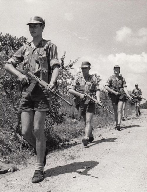 Selous scouts batalion.