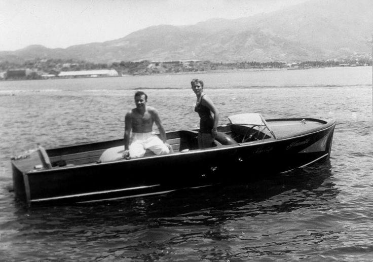 """Pedro Infante y Silvia Pinal en """"El inocente"""".-1955"""
