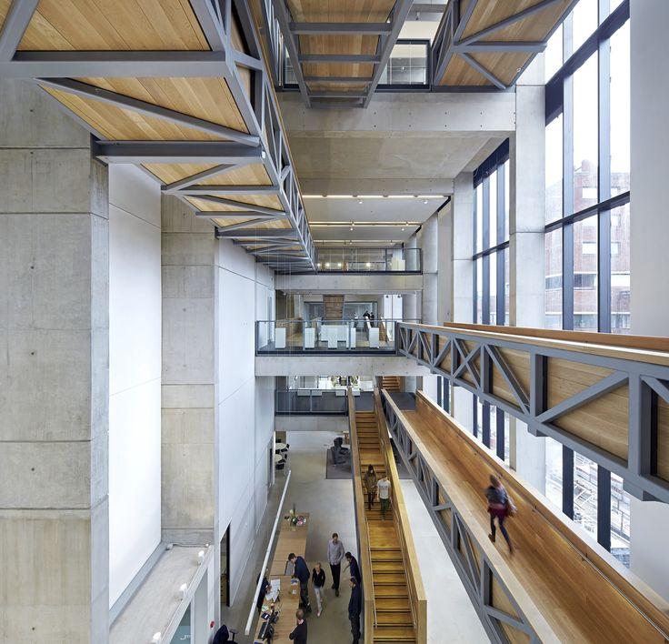 Gallery - Manchester School of Art / Feilden Clegg Bradley Studios - 1