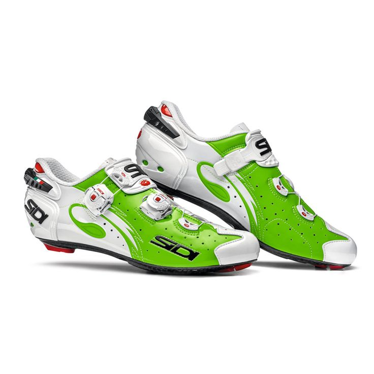 SIDI Wire Carbon Road Cycling Shoes - Green Fluo/White Color, Size: 39~46 EUR #SIDI #Wire #Carbon #Road #Cycling #Shoes #Green #White #39 #40 #41 #41.5 #42 #42.5 #43 #43.5 #44 #45 #46