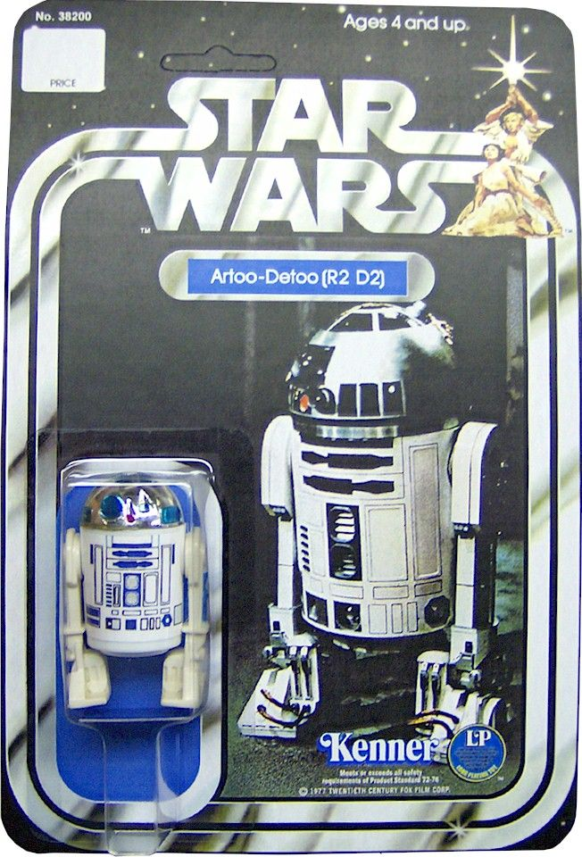 1978 R2-D2 This was my very first Star Wars toy as a kid. It was just the beginning of a very long toy addiction.